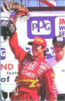 Vasser with Championship Trophy